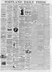 Portland Daily Press: January 13, 1876