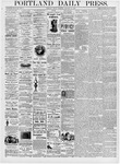 Portland Daily Press: January 14, 1876