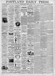 Portland Daily Press: January 15, 1876