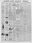 Portland Daily Press: January 18, 1876