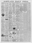 Portland Daily Press: January 22, 1876