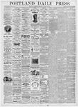 Portland Daily Press: January 26, 1876