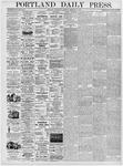 Portland Daily Press: February 9, 1876