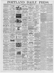 Portland Daily Press: February 24, 1876