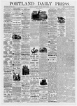 Portland Daily Press: August 5, 1876