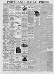 Portland Daily Press: August 7, 1876