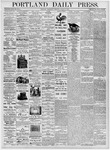Portland Daily Press: August 9, 1876