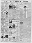 Portland Daily Press: August 10, 1876