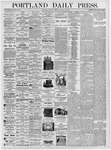 Portland Daily Press: August 15, 1876