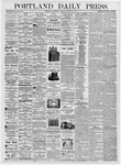 Portland Daily Press: August 16, 1876
