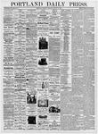 Portland Daily Press: August 17, 1876