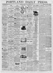 Portland Daily Press: August 21, 1876