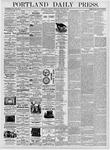 Portland Daily Press: August 22, 1876