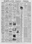 Portland Daily Press: August 24, 1876