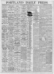 Portland Daily Press: August 31, 1876