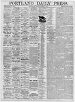 Portland Daily Press: September 1, 1876