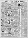 Portland Daily Press: September 4, 1876