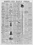 Portland Daily Press: September 11, 1876