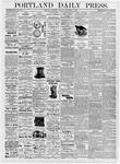 Portland Daily Press: September 13, 1876