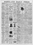 Portland Daily Press: September 14, 1876