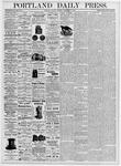 Portland Daily Press: September 18, 1876