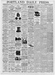 Portland Daily Press: September 21, 1876
