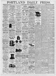 Portland Daily Press: September 22, 1876