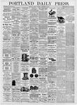 Portland Daily Press: September 25, 1876