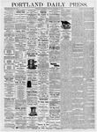 Portland Daily Press: September 27, 1876
