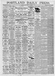 Portland Daily Press: September 29, 1876