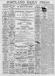 Portland Daily Press: October 2, 1876
