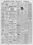 Portland Daily Press: October 6, 1876
