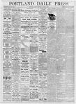 Portland Daily Press: October 7, 1876