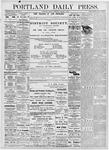Portland Daily Press: October 9, 1876