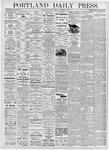 Portland Daily Press: October 10, 1876