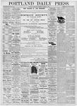 Portland Daily Press: October 11, 1876