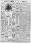 Portland Daily Press: October 12, 1876