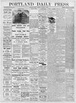 Portland Daily Press: October 13, 1876