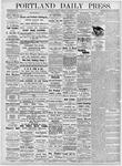 Portland Daily Press: October 16, 1876