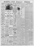 Portland Daily Press: October 17, 1876