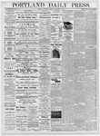 Portland Daily Press: October 18, 1876