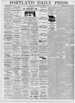 Portland Daily Press: October 21, 1876