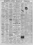 Portland Daily Press: October 23, 1876