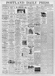 Portland Daily Press: October 24, 1876