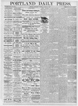 Portland Daily Press: October 25, 1876