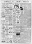 Portland Daily Press: October 26, 1876