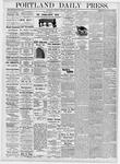 Portland Daily Press: October 28, 1876
