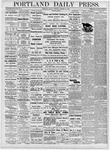 Portland Daily Press: October 30, 1876