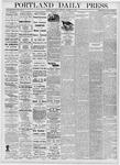 Portland Daily Press: October 31, 1876
