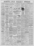 Portland Daily Press: November 1, 1876